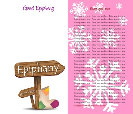 sfondo per la festa dell'Epifania Stock Vector - 11007270