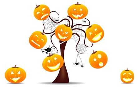 lebendige Hintergrund Halloween