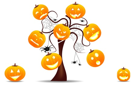 vivid background halloween Stock Vector - 11060647