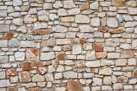 stone work: stone wall