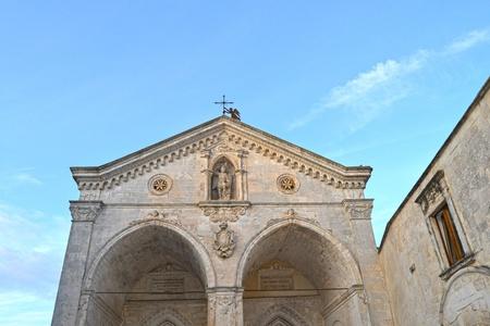 rotondo: michael the archangel church Stock Photo