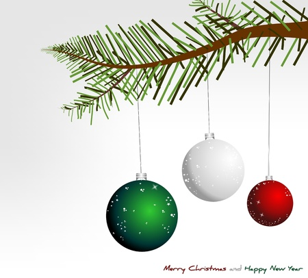 Italian Christmas background Vector
