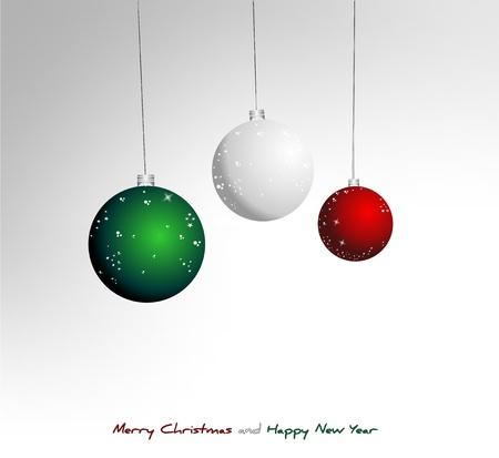 Italian Christmas background Vector