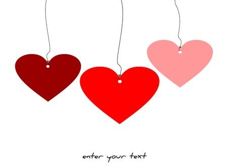 appendere: Amore ... amore ... amore! Vettoriali