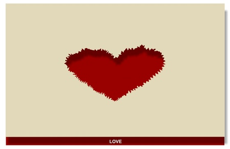 Love, red  Vector