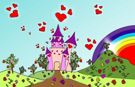 castle door: Castle of Love