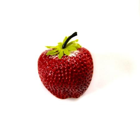 sweetened: Sweetened Strawberries Stock Photo