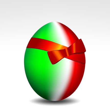 Happy Easter Italy Vector