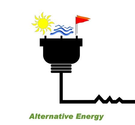 Alternative Energy Stock Vector - 12178600