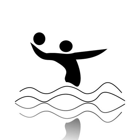 waterpolo: Waterpolo Vectores