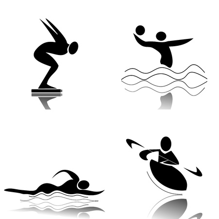 Water Sports Stock Vector - 12467497