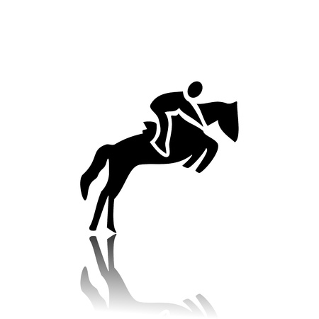speciality: Horse racing Illustration
