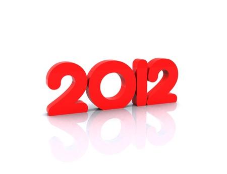 2012 - 3D Stock Photo - 12467523