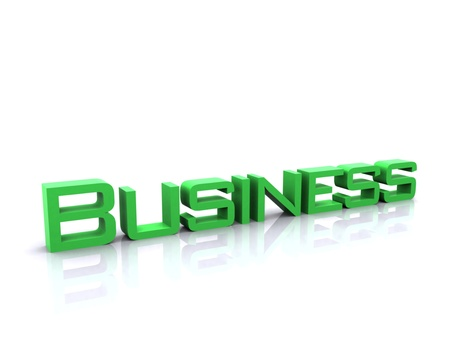 Business 3D Stock Photo - 12467524