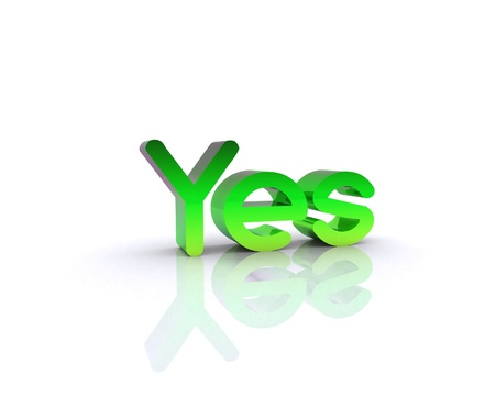 affirmation: Yes - 3D