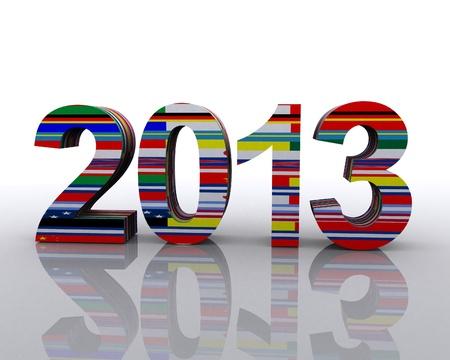 2013 World Stock Photo - 12748539