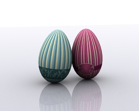 Painted Eggs Stock Photo - 12748544