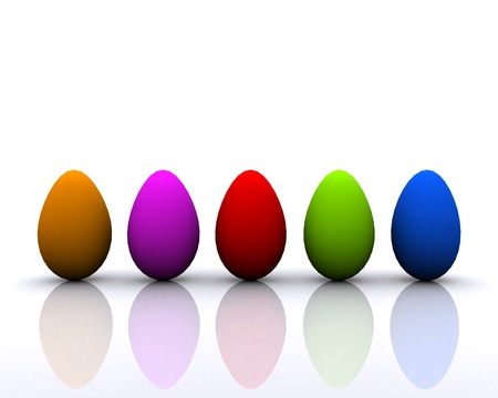 Colored eggs Stock Photo - 12748547