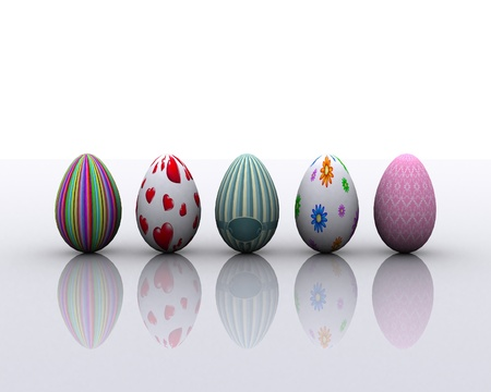 Painted Eggs Stock Photo - 12748548