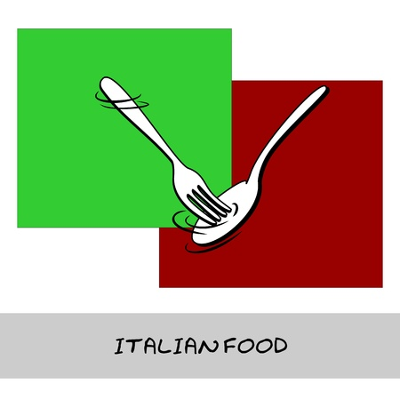 Italian Food Stock Vector - 12854170