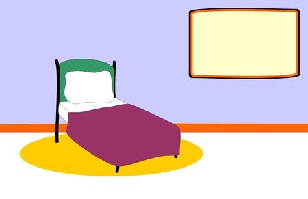 Bedroom  Stock Vector - 12854219