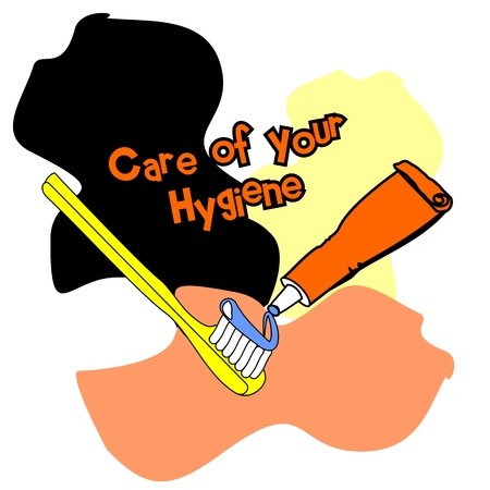Care of your Hygiene Vector