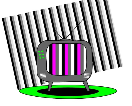 TV Stock Vector - 12854182