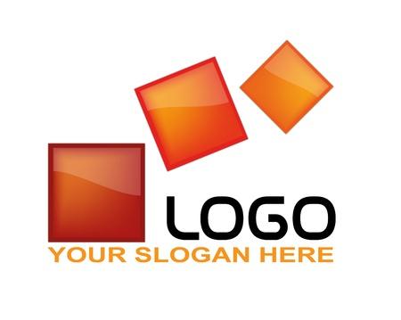 communicatie: Abstract Logo's, vector