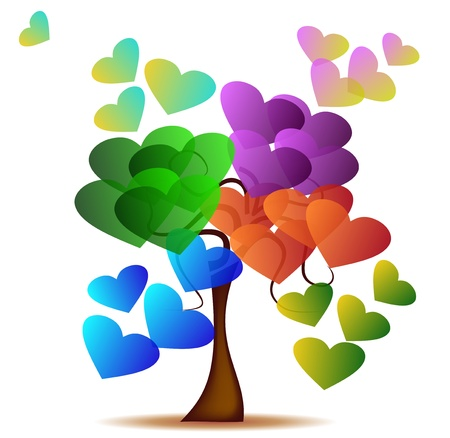 Tree of Love Stock Vector - 12975999