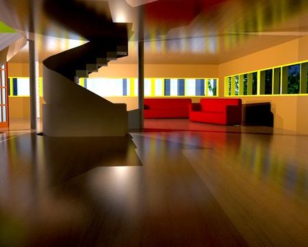 Inside the house - 3D photo