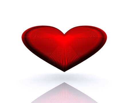 Heart - 3D  Stock Photo - 13110821