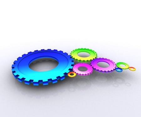 Mechanism, color photo