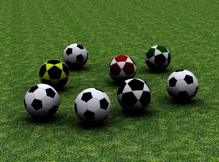 Footballs  photo