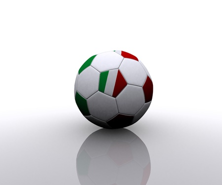 Italian soccer ball photo