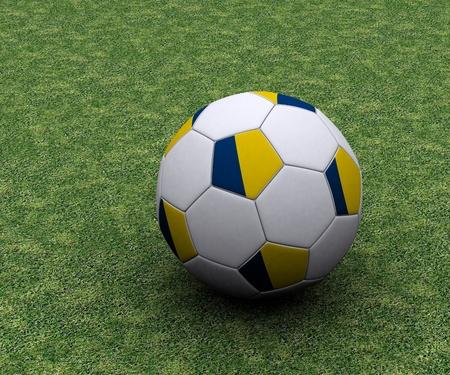 Ukrainian football Stock Photo - 13214422