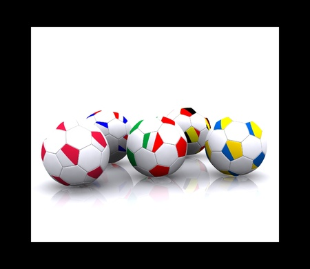 Euro 2012 Stock Photo - 13214416