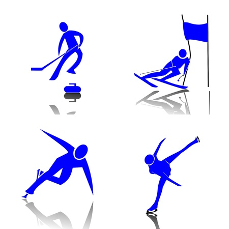 racing skates: Winter Sports