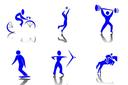 Sport Icons Stock Vector - 13305669
