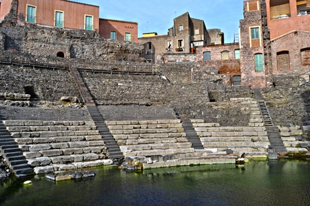 unique characteristics: Roman Theatre of Catania