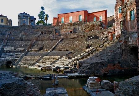Roman Theatre of Catania Stock Photo - 13341534
