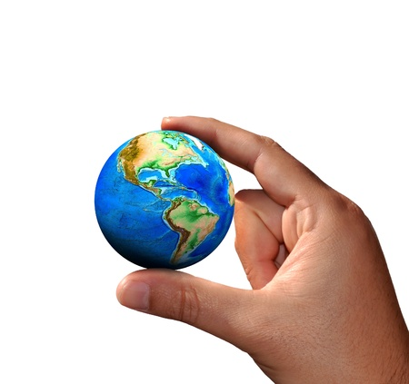 The universe in human hands Stock Photo - 13368187