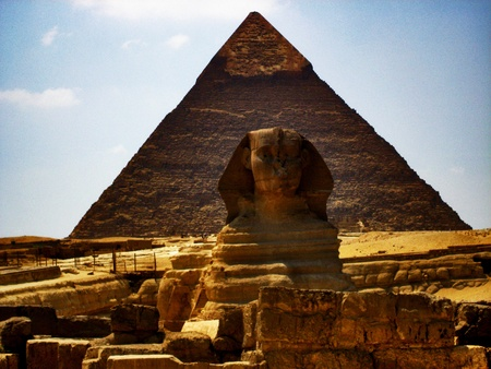 Pyramid of Giza and the Sphinx