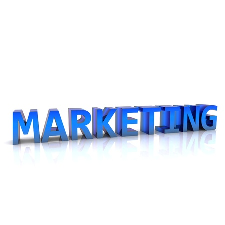Marketing - 3D Stock Photo - 13425634