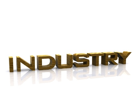 Industry - 3D Stock Photo - 13425636