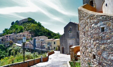 Medieval Village of Savoca Stock Photo - 13489467