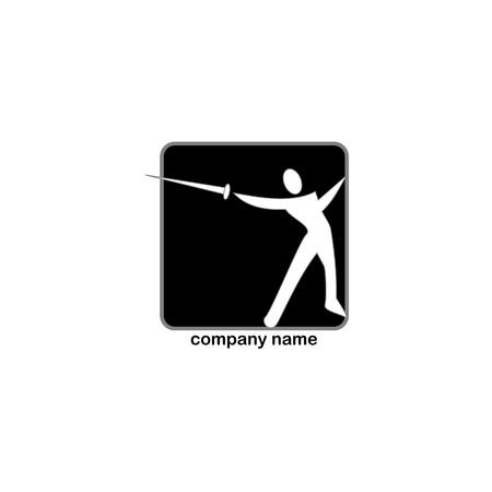 esgrima: Deportes logotipo