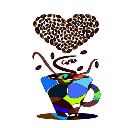 Passion for coffee Vector