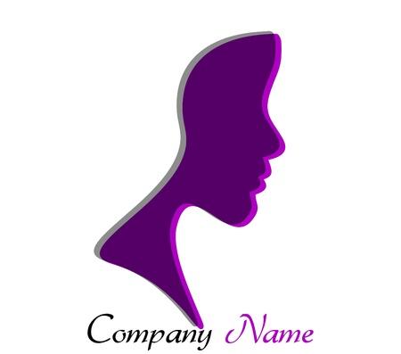 icona: giovane donna