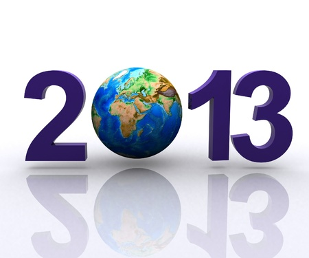 Worldwide  celebrates the New Year Stock Photo - 14173748