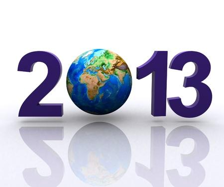 Worldwide  celebrates the New Year Stock Photo - 14173748